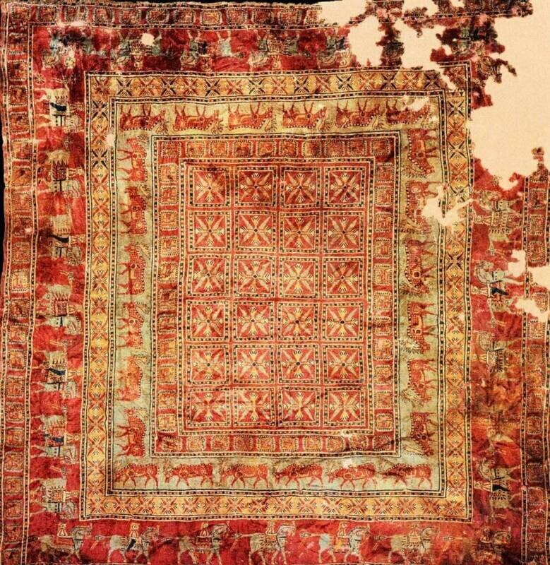 قدیمی ترین قالیچه جهان