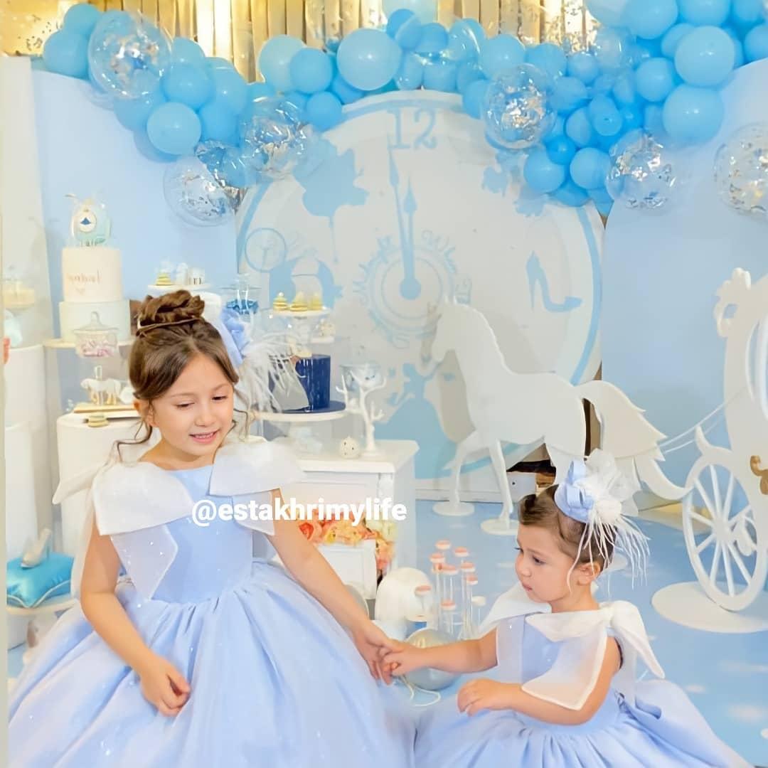 تولد دختر شاهرخ استخری