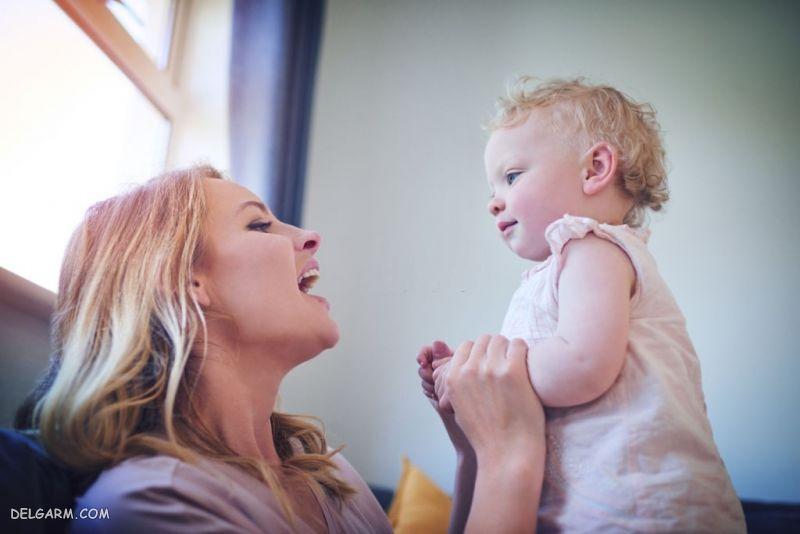 غان و غون نکردن نوزاد