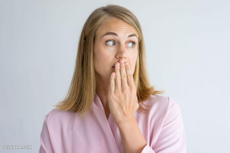 رفع بوی بد دهان در بارداری