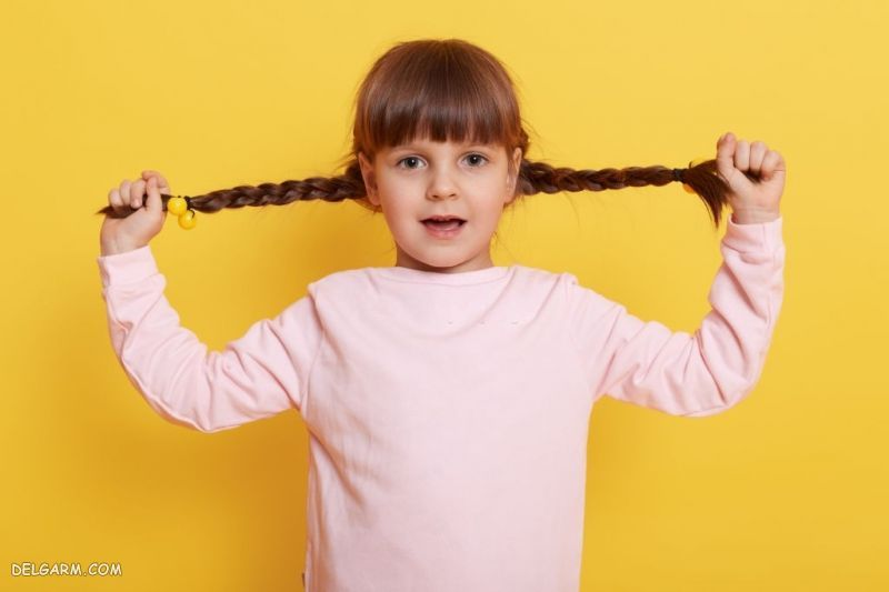 کشیدن موی کودک