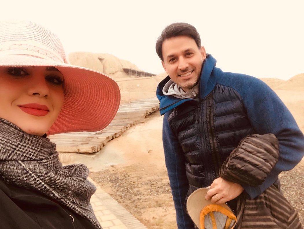  بیوگرافی مبینا نصیری مجری و همسرش ، زندگینامه مبینا نصیری ، عکس های مبینا نصیری