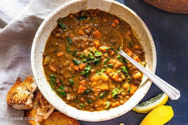 طرز تهیه ی خوراک دال عدس خوشمزه + خواص بی نظیر عدس