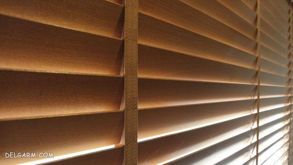 شستشوی پرده کرکره های چوبی