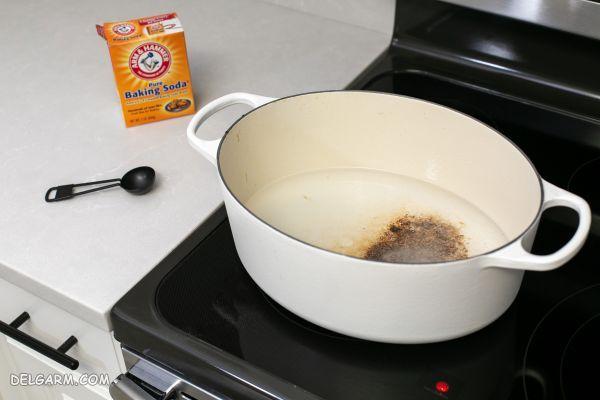 نحوه تمیز کردن و از بین بردن لکه های ظروف سرامیکی