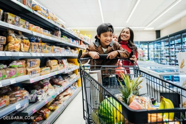 چگونه خرید رفتن با کودکان را لذت بخش تر کنیم؟