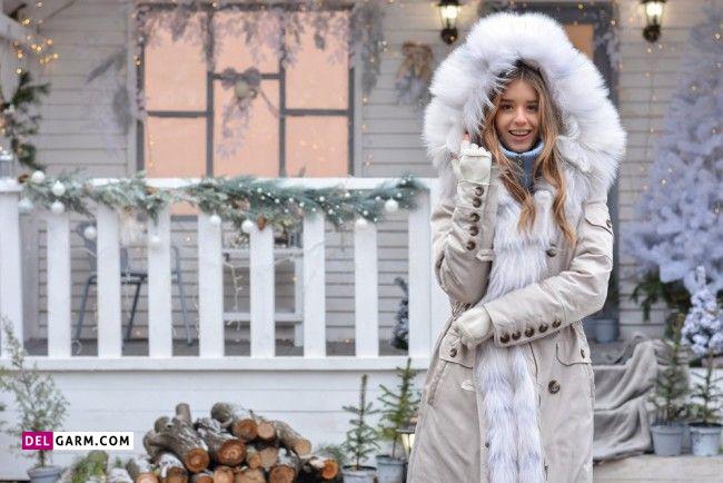 پالتوی شیک مدل سال دخترانه