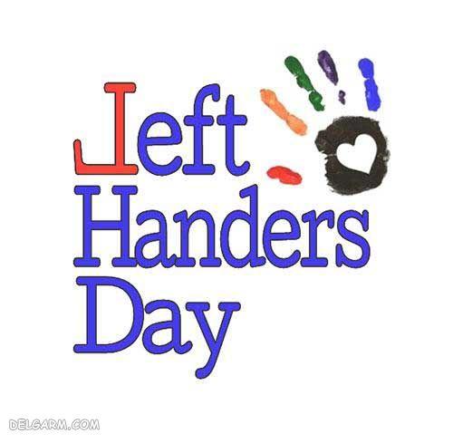 عکس پروفایل برای روز چپ دست ها