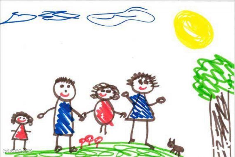 روانشناسی نقاشی آدمک کودکان