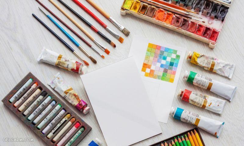 فرق نقاشی و گرافیک - تفاوت نقاشی و تصویرسازی - طراحی چیست - نقاشی چیست
