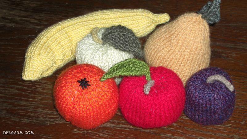 آموزش بافت میوه ( آموزش بافت موز، توت فرنگی، خیار، انگور، بادمجان، گیلاس و غیره )