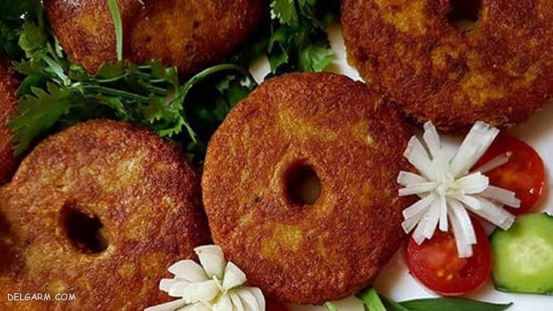 غذای ساده و خوشمزه شامی لپه