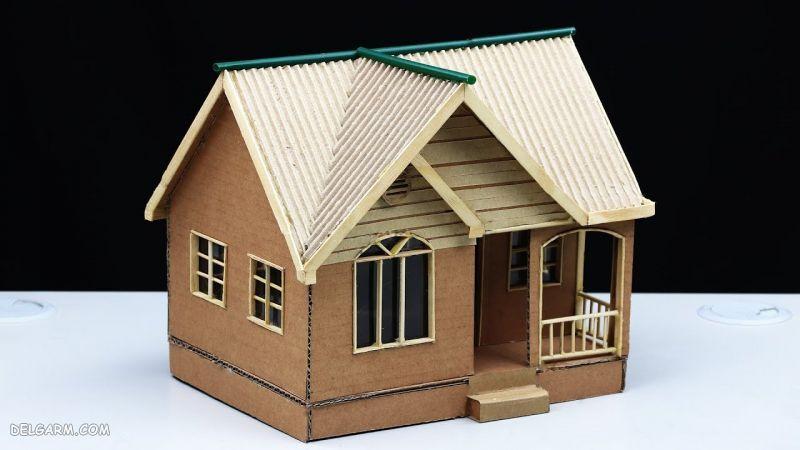 ساخت ماکت خانه با مقوا و کاغذ