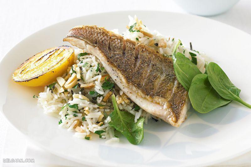 غذای شب عید: سبزی پلو با ماهی