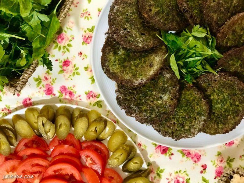 غذای شب عید: کوکو سبزی