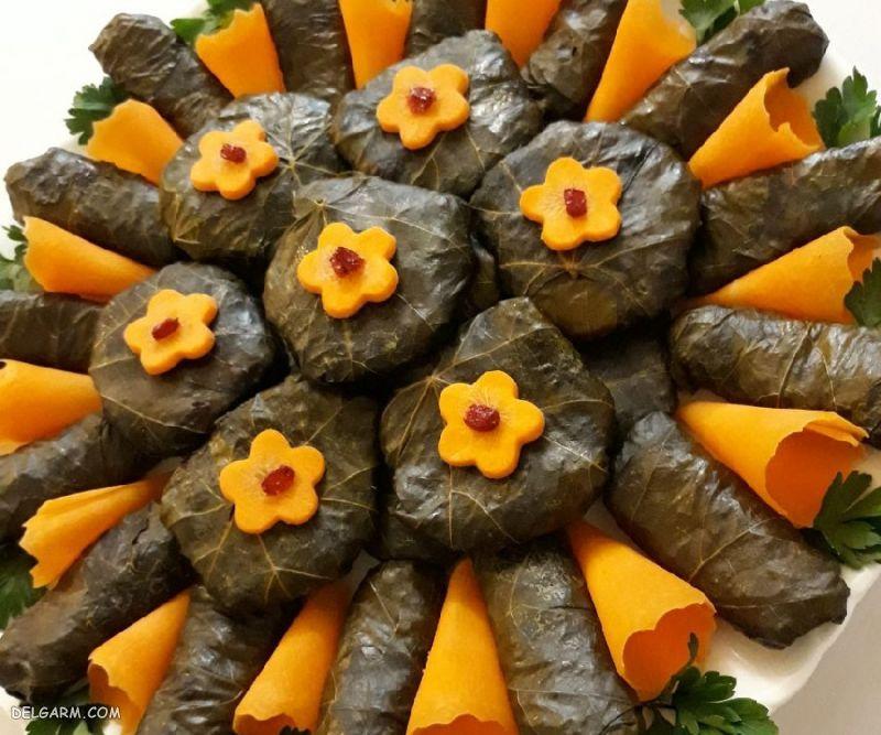 غذای شب عید: دلمه