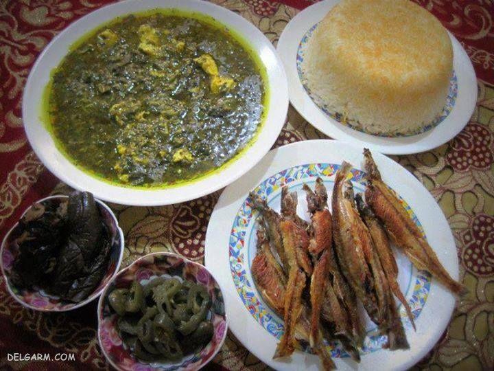 غذای شب عید: ترشی تره با ماهی