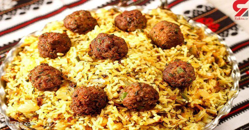 غذای شب عید: کلم پلو