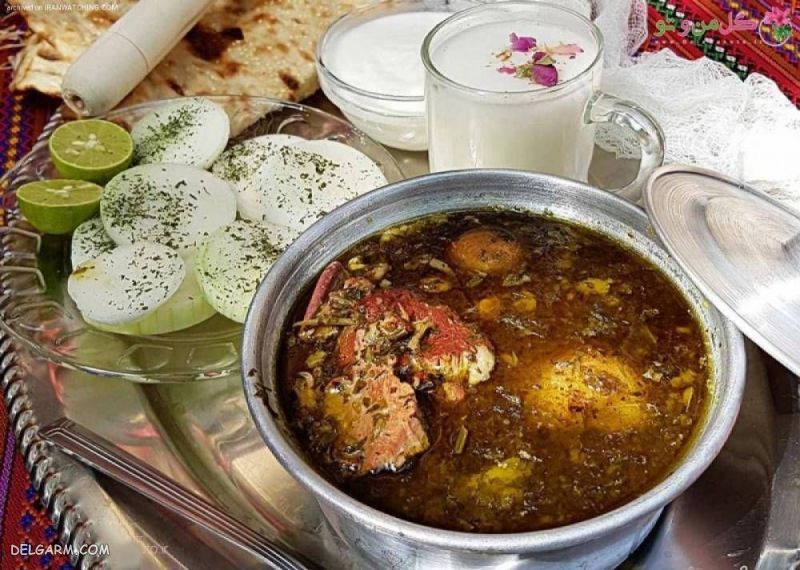 غذای شب عید: آبگوشت و کوفته