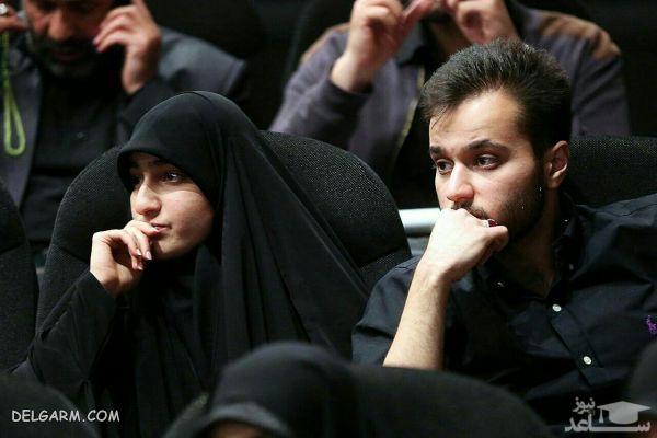 بیوگرافی محمد رضا سلیمانی پسر سردار سلیمانی | عکس محمد رضا سلیمانی
