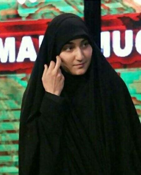 عکس زینب سلیمانی دختر سردار قاسم سلیمانی