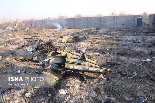 سقوط هواپیما   سقوط هواپیما در فرودگاه امام   عکس سقوط هواپیما اوکراینی
