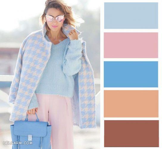 لباس آبی را با چه رنگ لباسی ست کنیم ؟|  رنگ آبی کلاسیک را با چه رنگهایی میتوان ست کرد ؟