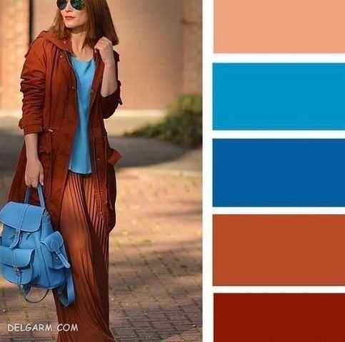 لباس آبی را با چه رنگ لباسی ست کنیم ؟ | ست با رنگ آبی
