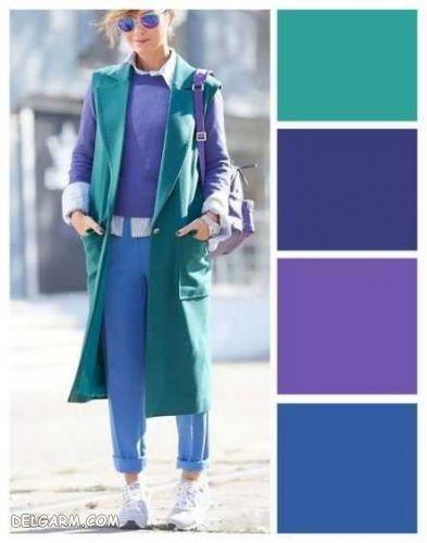 آبی را با چه رنگ هایی ست کنیم ؟
