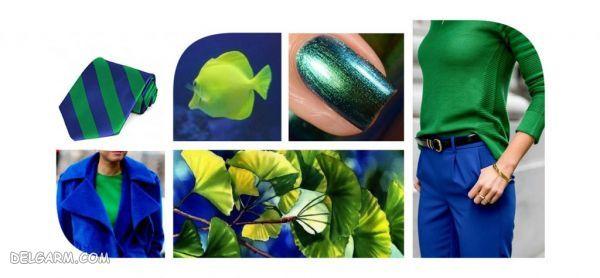 لباس آبی را با چه رنگ لباسی ست کنیم ؟  | رنگ آبی کلاسیک را با چه رنگهایی میتوان ست کرد ؟