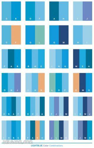 لباس آبی را با چه رنگ لباسی ست کنیم ؟