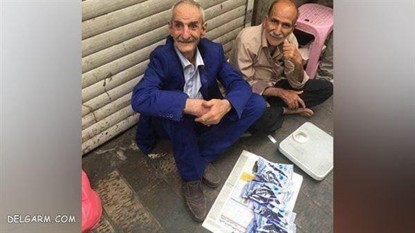 گدایی احمد پورمخبر