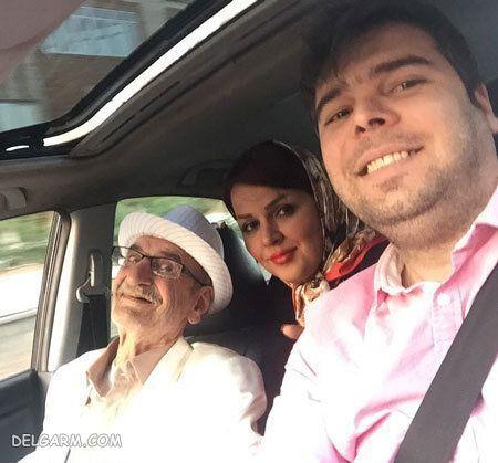 عکس | احمد پورمخبر در کنار پسر و دخترش