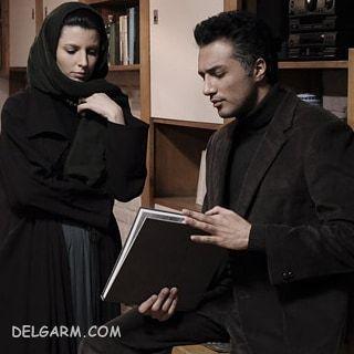 فرزان اطهری و لیلا حاتمی