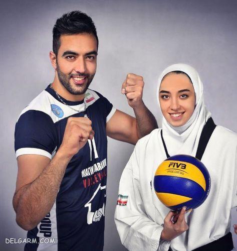 بیوگرافی حامد معدنچی همسر کیمیا علیزاده + عکس
