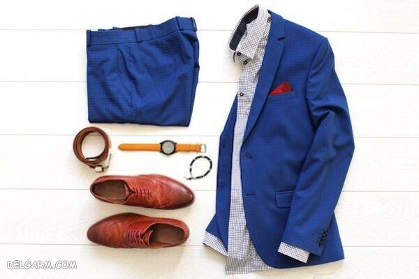 ست کردن لباس ها با آبی کلاسیک