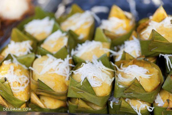 غذا، میان وعده، اسنک و شیرینی تایلندی