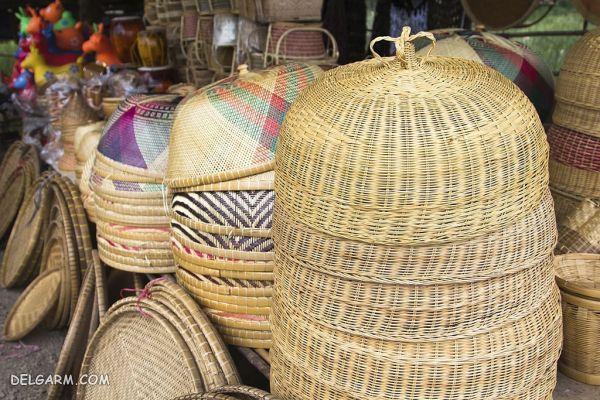 خرید محصولات حصیری از تایلند