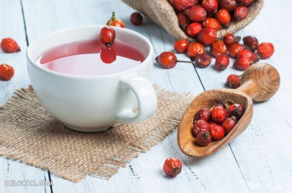 چگونه چای میوه رز درست کنیم؟