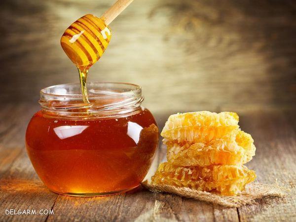 درمان شقاق سینه با عسل