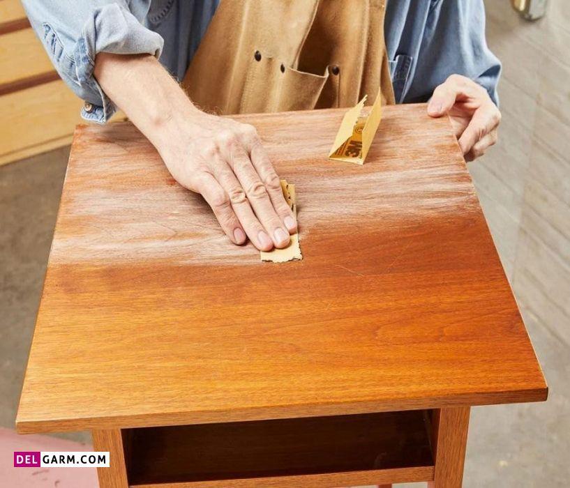 محافظت از وسایل چوبی