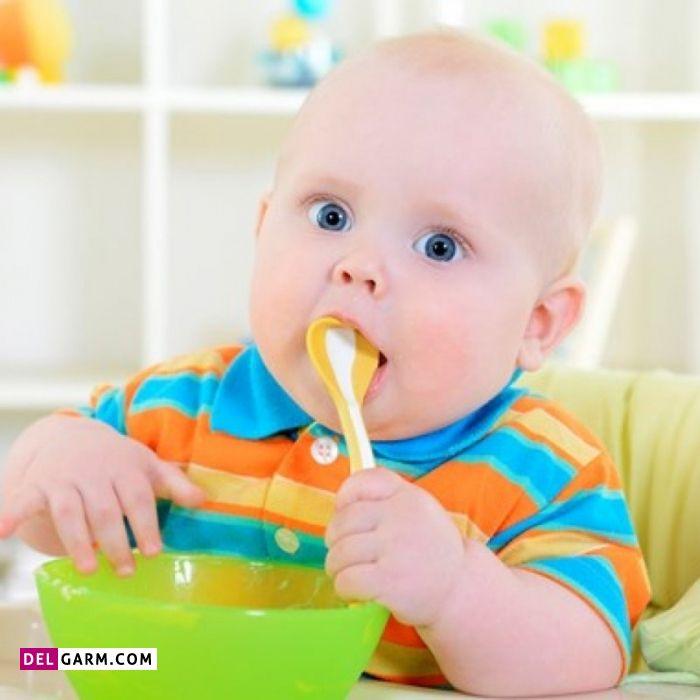 مواد غذایی برای راه افتادن کودک