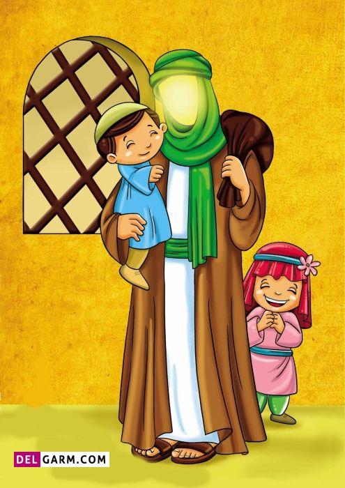 قصه کودکانه درمورد زندگی حضرت علی