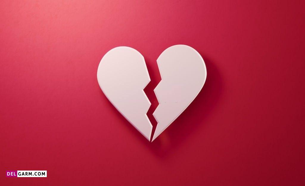 عکس قلب شکسته واقعی