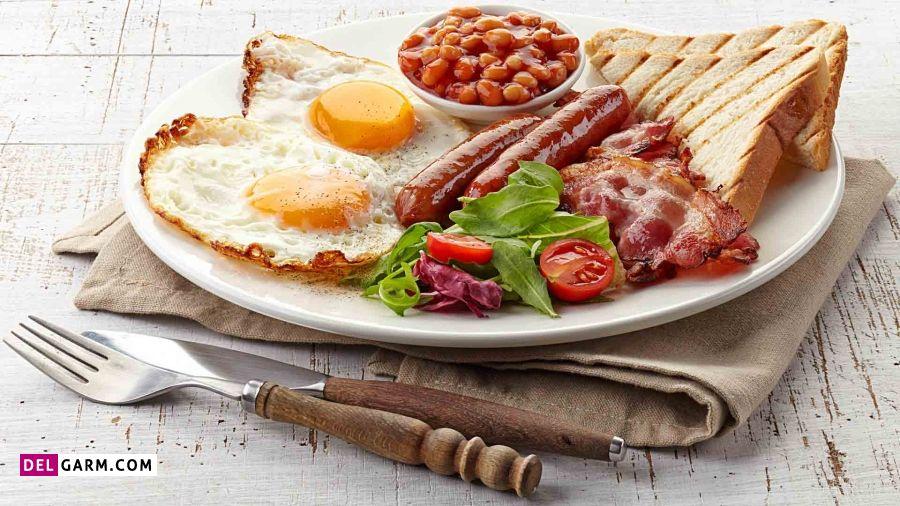 لیست صبحانه رژیمی