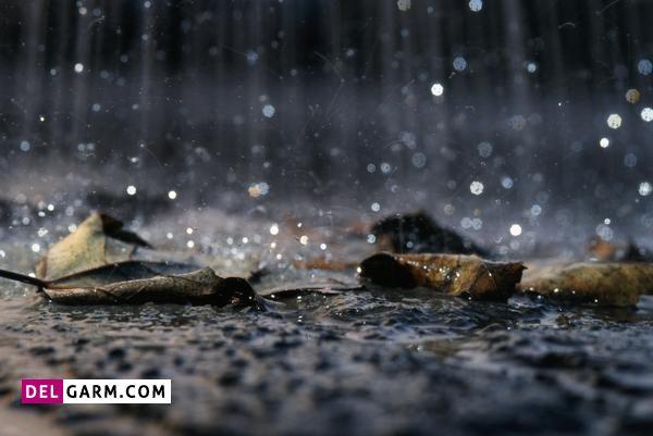 انشا درمورد بوی خاک پس از بارش باران هشتم