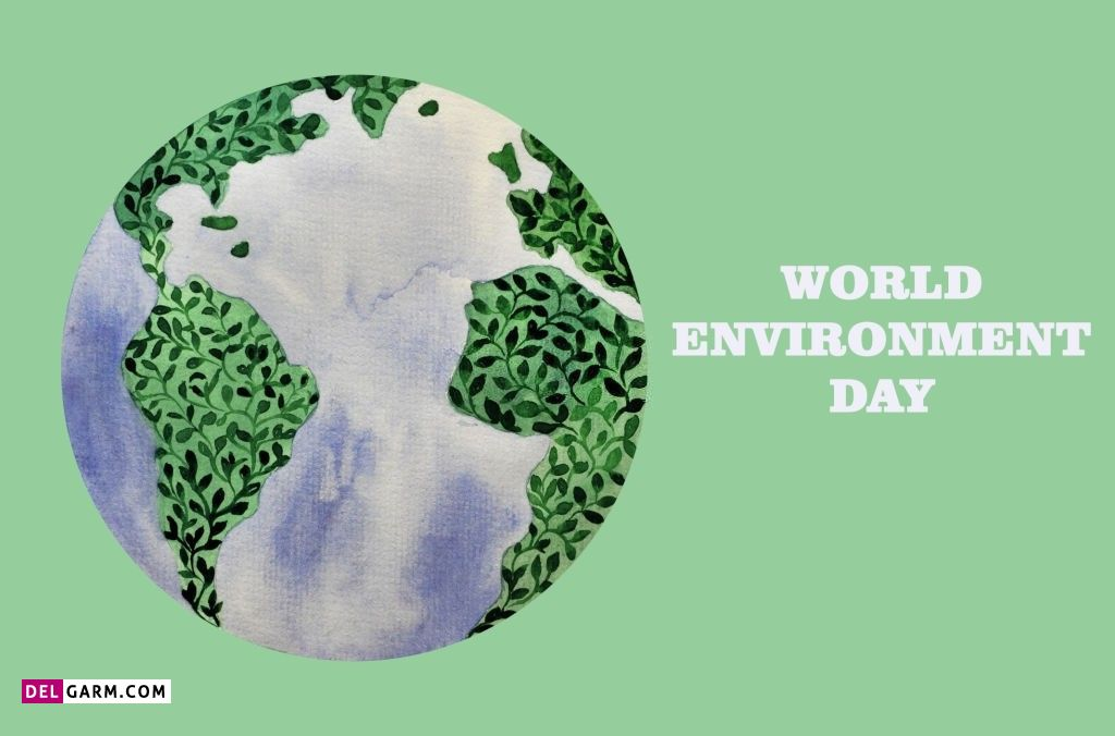 عکس نوشته روز جهانی محیط زیست