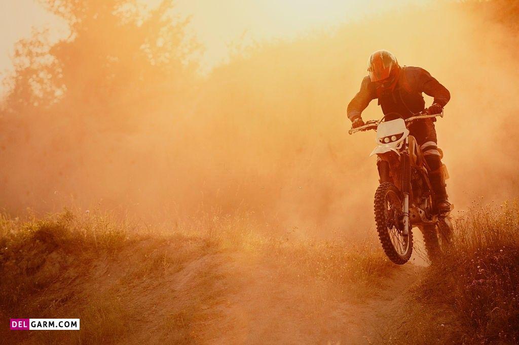 عکس موتور سواری