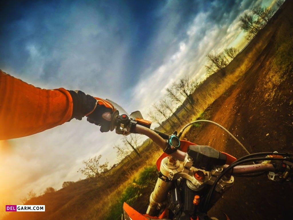 عکس موتور سواری خفن