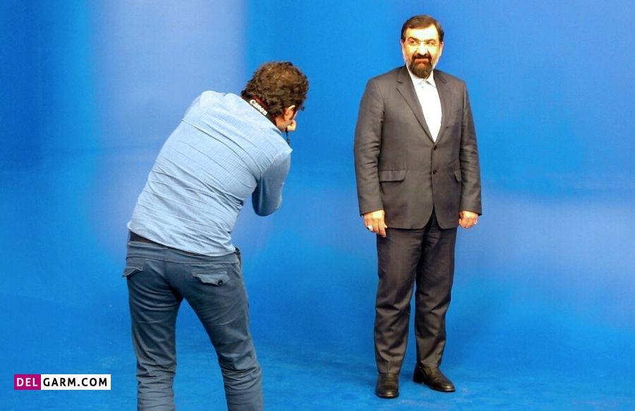 عکس تبلیغاتی محسن رضایی